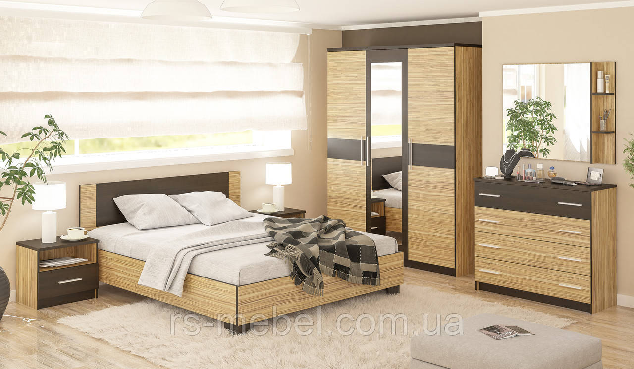 модульная спальня вероника зебрано мебель сервис цена 9 220 грн