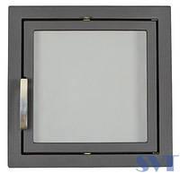 Чугунная дверца каминная 501 SVT 474х474 мм (симметричная)