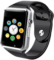 "Смарт часы A1, Шагомер, Смена тем циферблата, Фитнес-трекер, SIM-карта, Камера, Bluetooth 3.0, дисплей 1.54"""