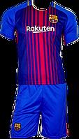 Форма футбольная детская Barcelona MESSI (XS-S-M-L-XL) Без номера., фото 1