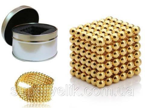 Неокуб Gold Neocube 216 шариков 5мм в боксе , нэокуб Neo cub ЗОЛОТО -  Интернет магазин 46a8b322481