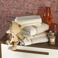 Комплект белья в детскую кроватку (5 предметов), Izziwotnot
