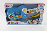 Детская музыкальная игрушка Гитара 3в1 O-1355