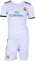 Форма футбольная детская Real Madrid (S-M-L-XL) Без номера