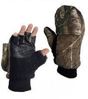 Перчатки - варежки флисовые