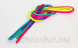 Скакалка для художественной гимнастики радуга