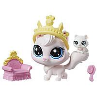 Набор Hasbro LITTLEST PET SHOP LPS ЛПС Пет Шоп VIOLA ANGORA/BIJOU ANGORA