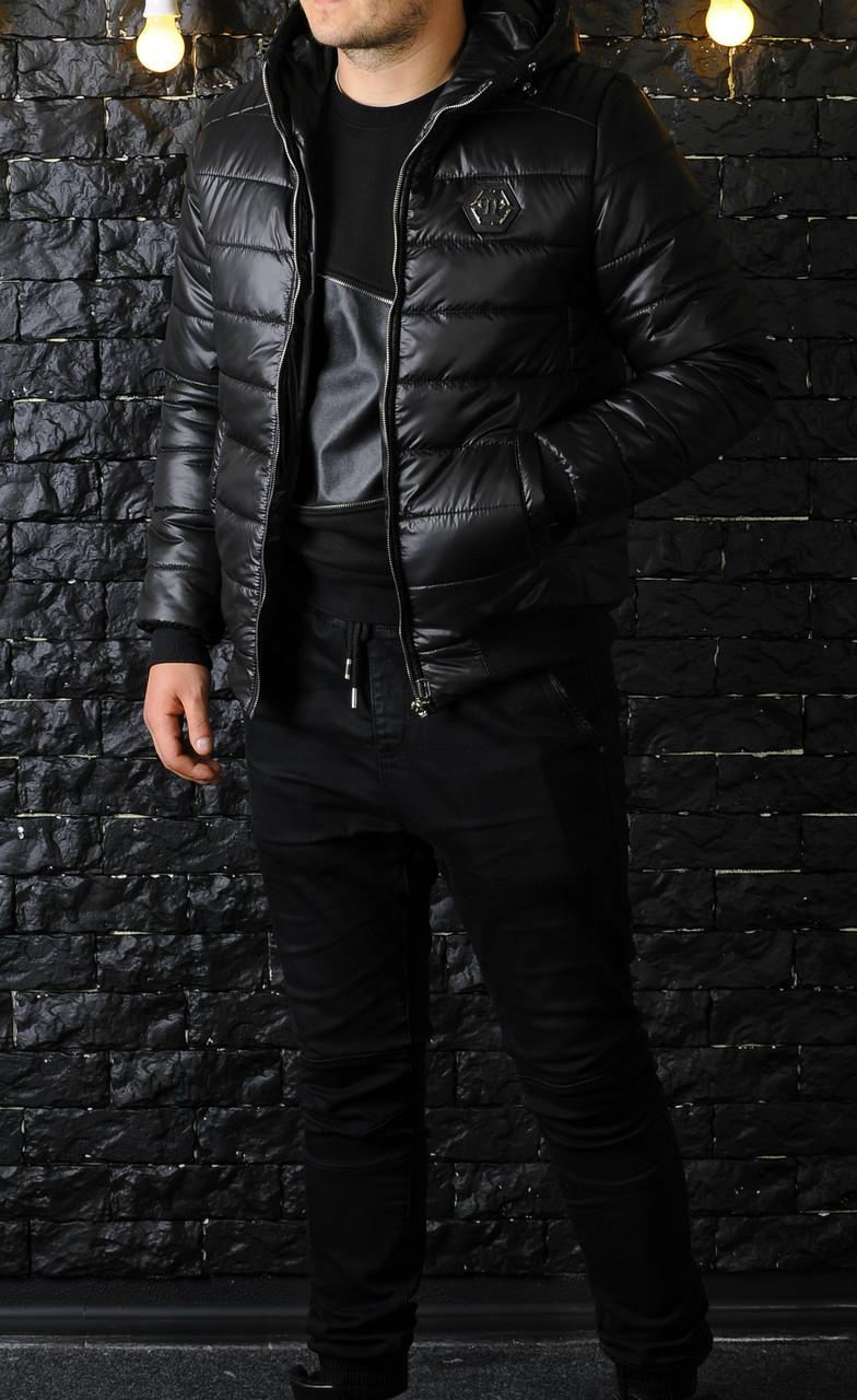 Мужская куртка зима Philipp Plein оптом
