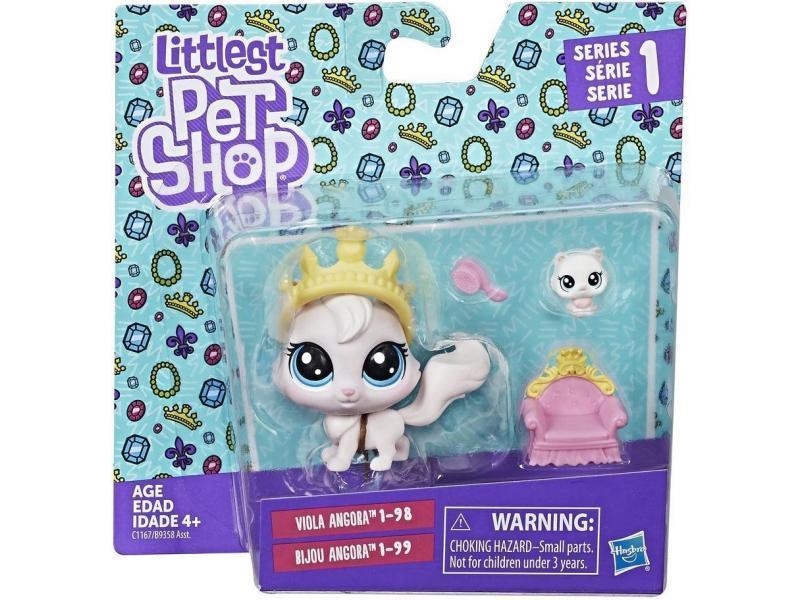 Littlest pet shop lps ігровий набір Hasbro лпс пет шоп viola angora/bijou angora