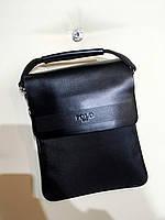 Мужской планшет текстиль+кожа, фото 1