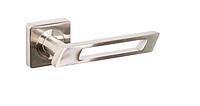 Дверная ручка Gamet Finestro никель