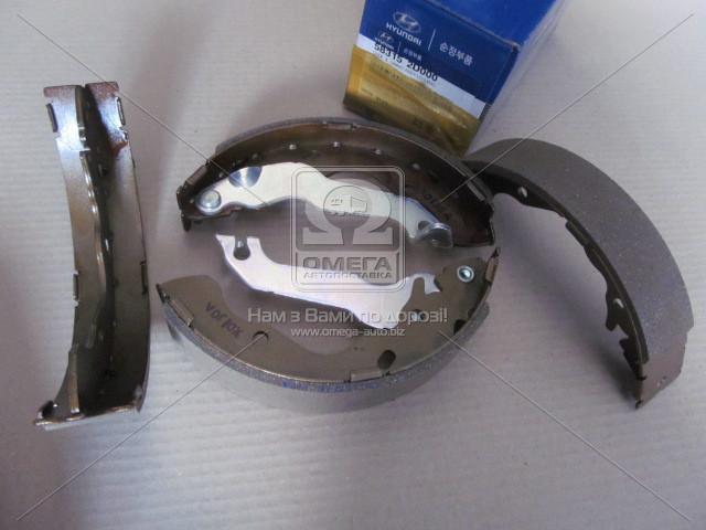 Колодки тормозные барабанные (производство Mobis) (арт. 583152D000), ACHZX