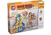 Конструктор детский магнитный 46 деталей Magic Magnetic LT1002