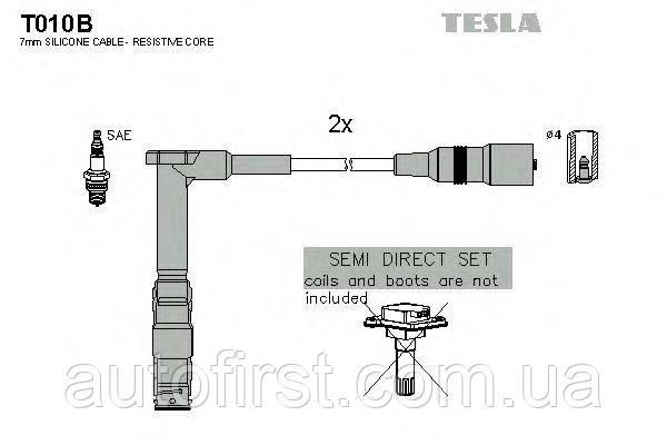 Высоковольтные провода Tesla T010B для Mercedes,VW