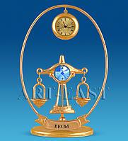 Фигурки с кристаллами Сваровски Знаки зодиака с часами