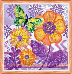 """Набор для вышивания бисером на холсте """"Удивительные цветы"""""""