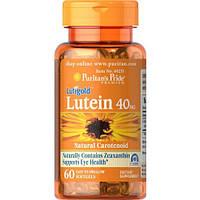Препарат для поддержки органов зрения Puritan's Pride Lutein 40 мг with Zeaxanthin (60 капс)