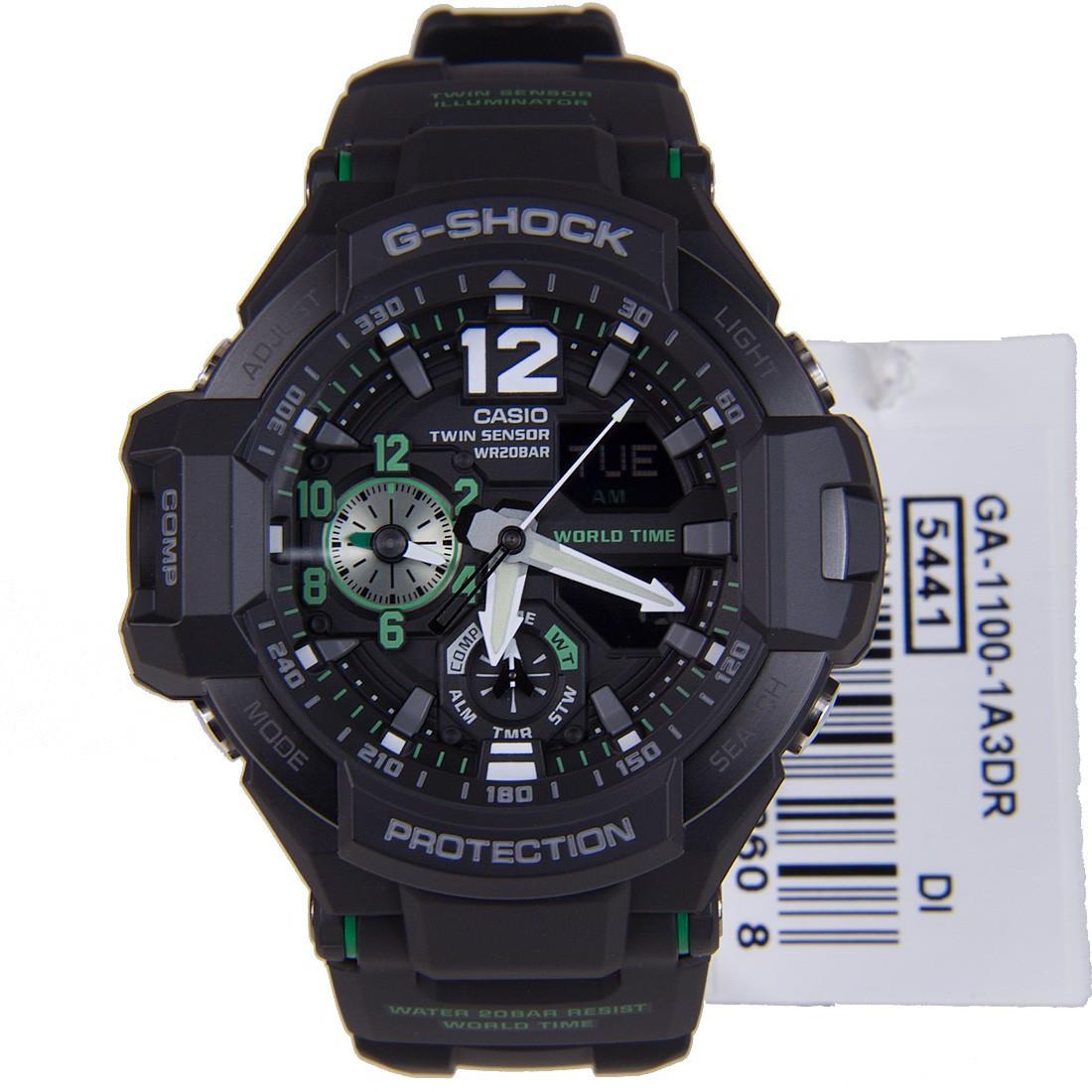 Часы Casio G-Shock GA-1100-1A3 Gravity Master B.