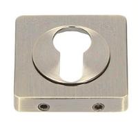 Накладка  под ключ (цилиндр) Gamet Plt-24z-pz-07-kw-bl кварцованый никель