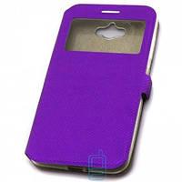 Чехол-книжка Modern с окном ASUS Zenfone MAX ZC550KL Фиолетовый Код:20650