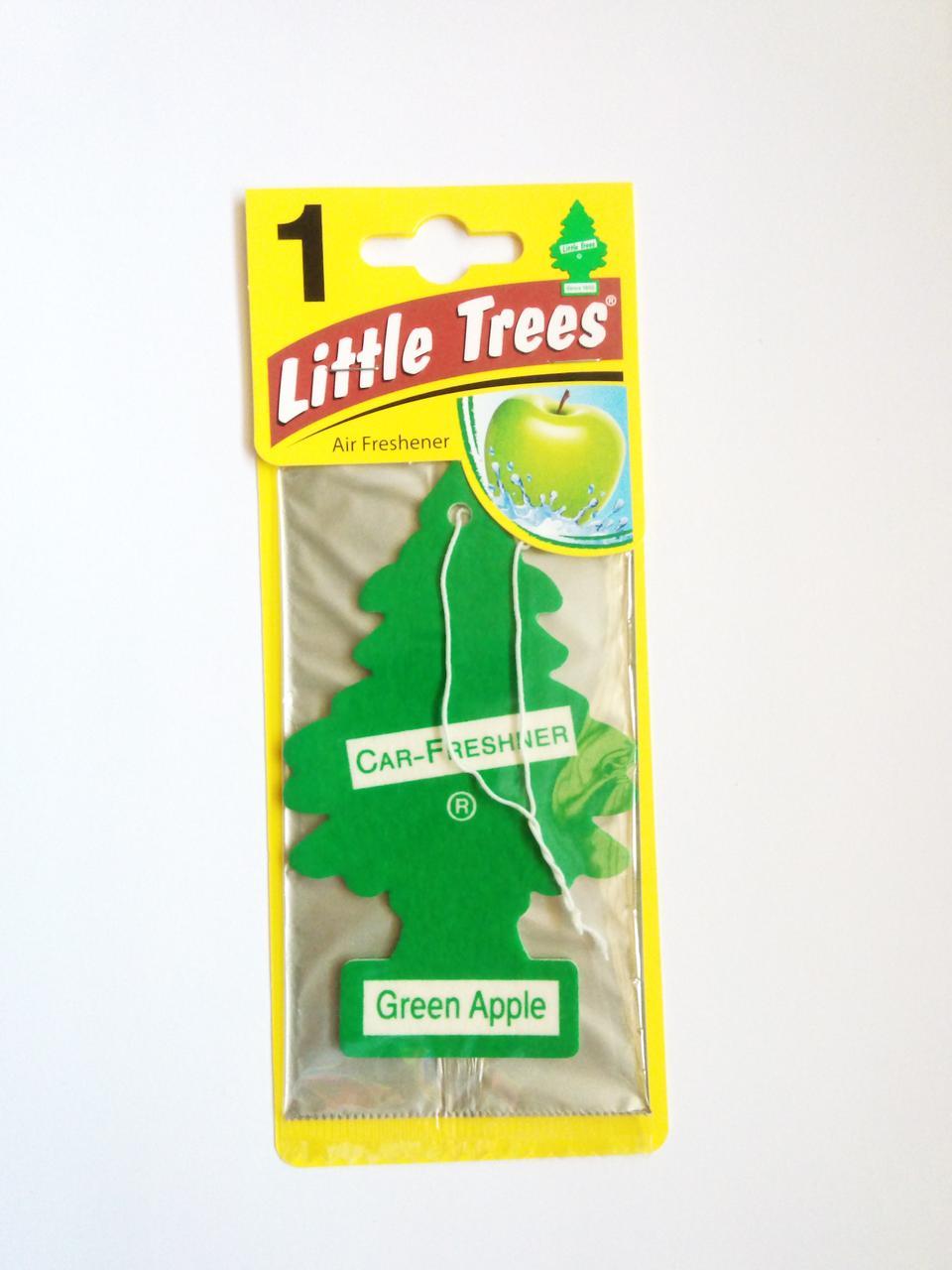 Ароматизатор Wunder Baum Little Trees Зеленое Яблоко
