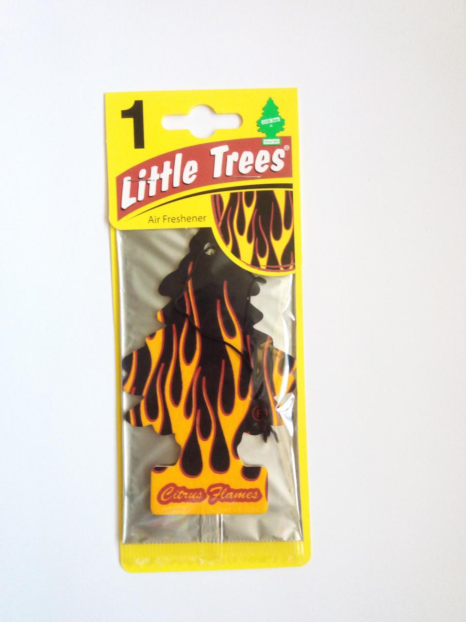 Ароматизатор Wunder Baum Little Trees Цитрусовое пламя