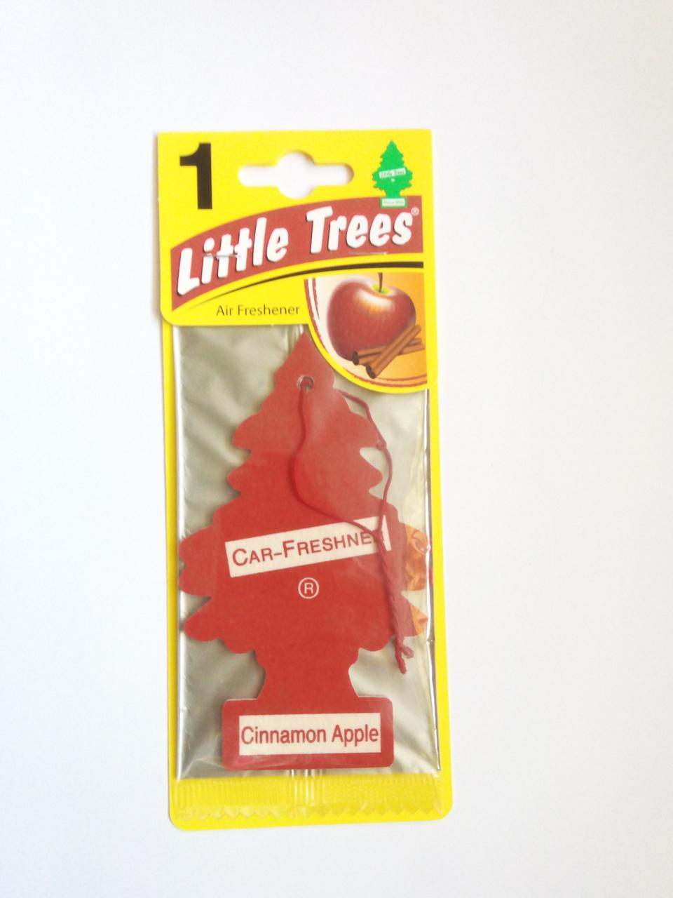 Ароматизатор Wunder Baum Little Trees Яблоко Корица