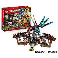 "Конструктор лего ниндзя Lepin 06041 (аналог Lego Ninjago 70627) ""Кузница Дракона"" 1158 дет"