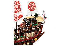 Летающий корабль Мастера Ву детский конструктор Ninjago Movie Lepin 06057 (аналог Lego 70618), 2345 дет.