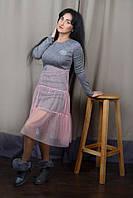 Модное женское платье из ангоры 44-50