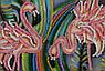 "Набор для вышивания бисером на холсте ""Розовое фламинго"", фото 4"