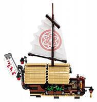 """Игрушка детский конструктор Ninjago Movie Lepin 06057 (аналог Lego 70618) """"Летающий корабль Мастера Ву"""", 2345 деталей"""