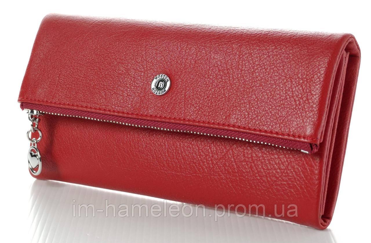 51f9036c2002 Женский кожаный кошелек клатч Boston натуральная кожа - Интернет-магазин