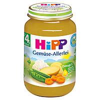 HiPP Детское овощное пюре с 4 месяца 190 г