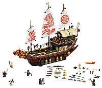 Летающий корабль Мастера Ву детский конструктор Ninjago Movie Lepin 06057 (аналог Lego 70618), 2345 деталей
