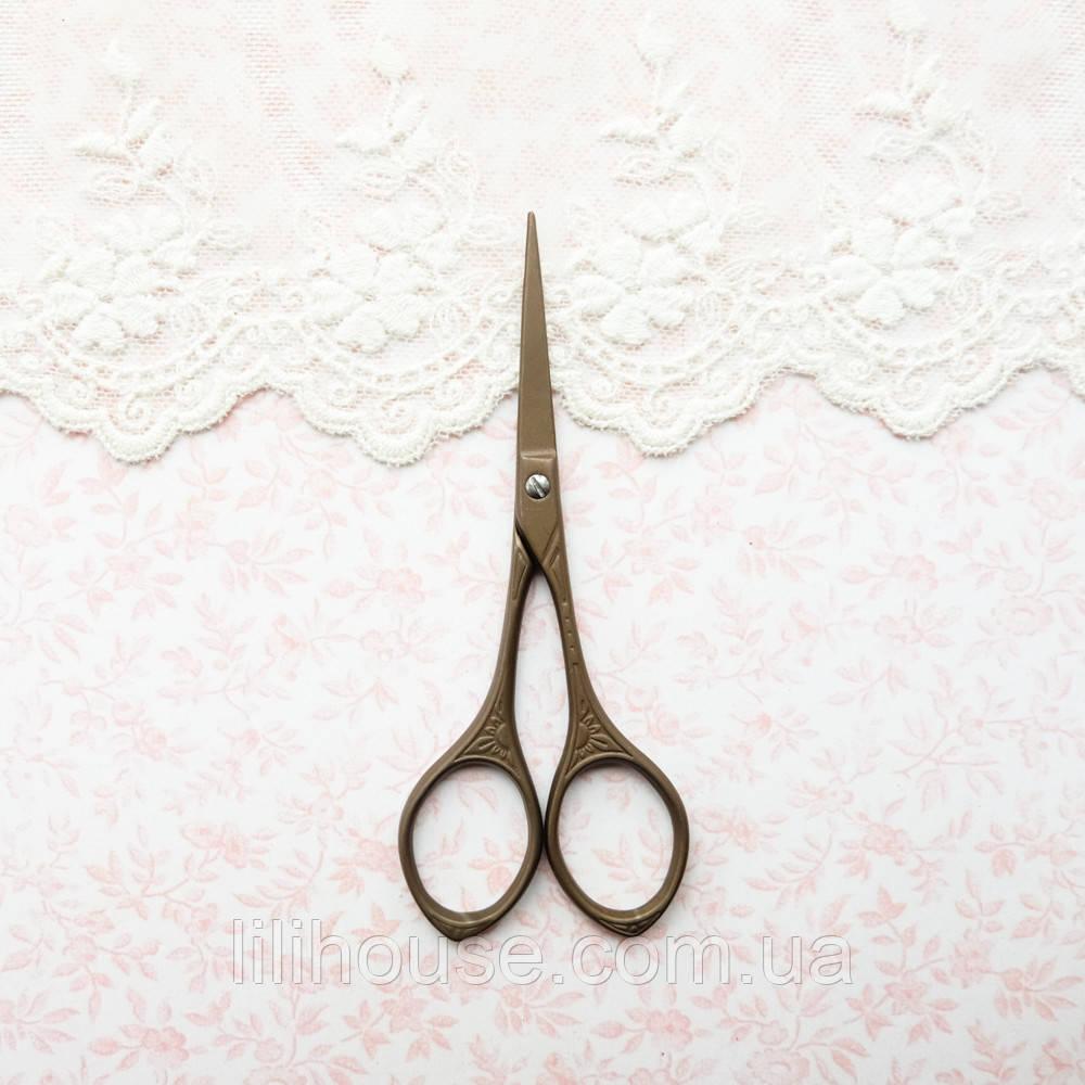 """Ножницы для рукоделия и вышивки """"Ретро"""" античная бронза, 9.5 см, фото 1"""
