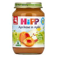 HiPP Пюре фруктовое: абрикос-яблоко 190 г,  с 4-го мес.