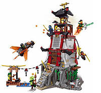 "Пластиковый конструктор типа LEGO ""Осада Маяка"" Lepin серии Ninja 06037"