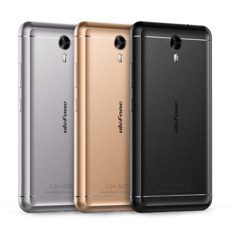 "Смартфон Ulefone Power 2 4/64Gb, 13/8Мп, 8 ядер, 2sim, экран 5.5"" IPS, 6050mAh, , 4G"