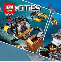 """Пластиковый конструктор типа LEGO Lepin 02012 """"Корабль исследователей морских глубин"""""""