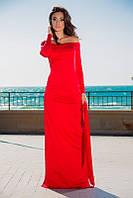 """Стильное молодежное платье в пол """" Гранат """"  Dress Code, фото 1"""
