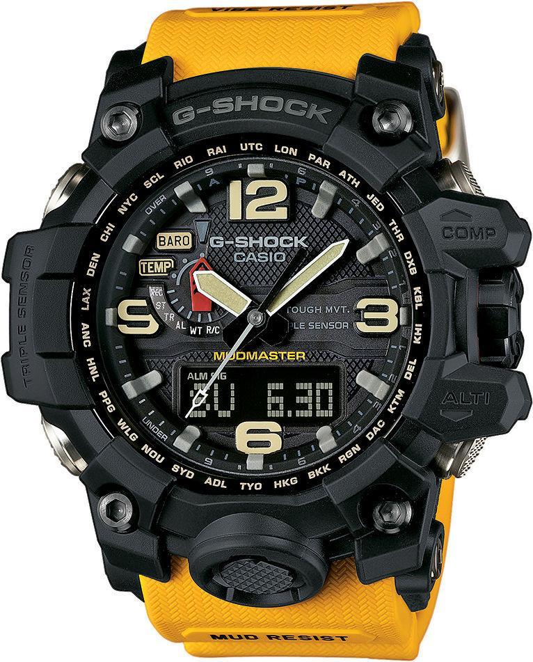 Часы Casio G-Shock GWG-1000-1A9 Mudmaster В.