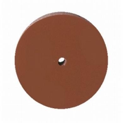 Резинка полировальная каучуковая коричневая