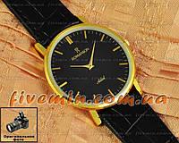 Наручные часы Romanson Adel Quartz Gold Black мужские и женские унисекс кварцевые часики