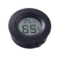 Термометр гигрометр круглой формы, 40мм Код:541293719