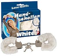 """Наручники - Handsch. """"Love Cuffs"""", white"""