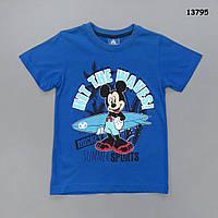 Футболка Mickey Mouse для мальчика. 7-8;  9-10;  11-12 лет