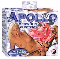 Клиторальный стимулятор - Apollo Verwöhn-Schmetterling