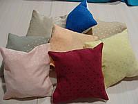 Комплект подушек разноцветные квадратик , 8шт, фото 1