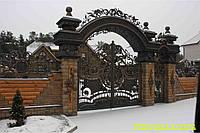 "Кованные ворота ""Цезарь"", фото 1"